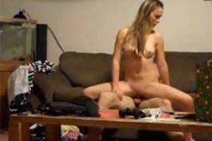 Obrázok Študentský pár si natočí domáce porno