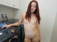 Sestra poprosila brata, či jej nepomôže s praním porno video