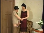 Obrázok Jeho prvý sex s vlastnou mamou (retro)